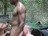 anal, army sex, huge cock, black clips, cock, gay fuck, outdoor sex, sex